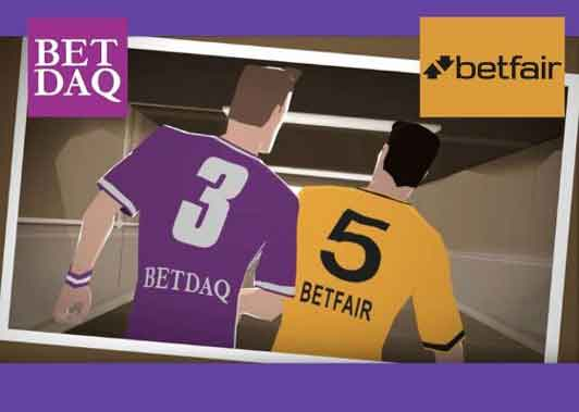 difference between betfair and betdaq betting